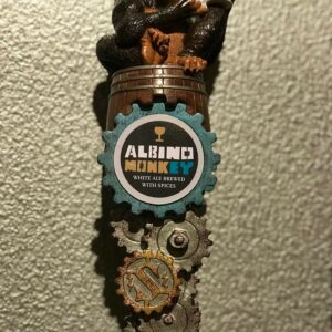 Albino Monkey magnet