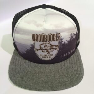 WB hat front BLk-gray