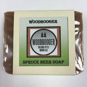 Woodbooger Spruce Beer Soap