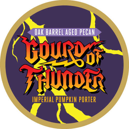 Oak Barrel Aged Pecan Gourd of Thunder