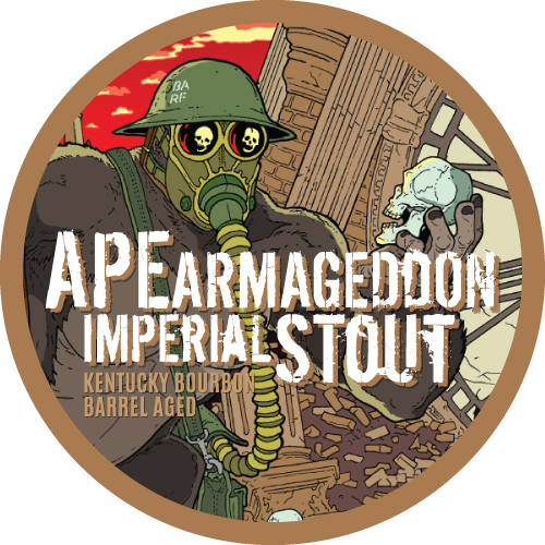 Ape Armageddon Kentucky Bourbon Barrel Aged