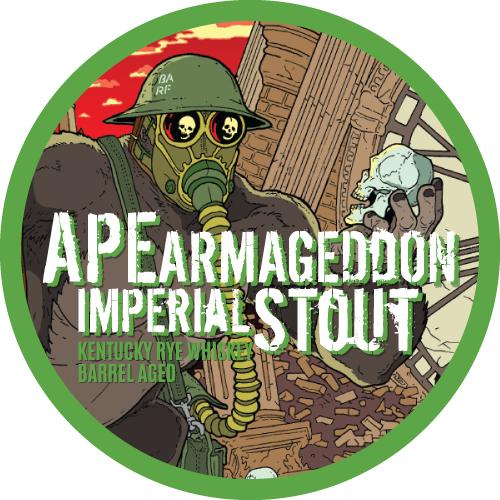 Ape Armageddon Kentucky Rye Whiskey Barrel Aged
