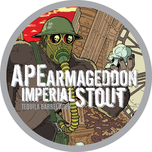 Ape Armageddon Mexican Tequila Barrel Aged