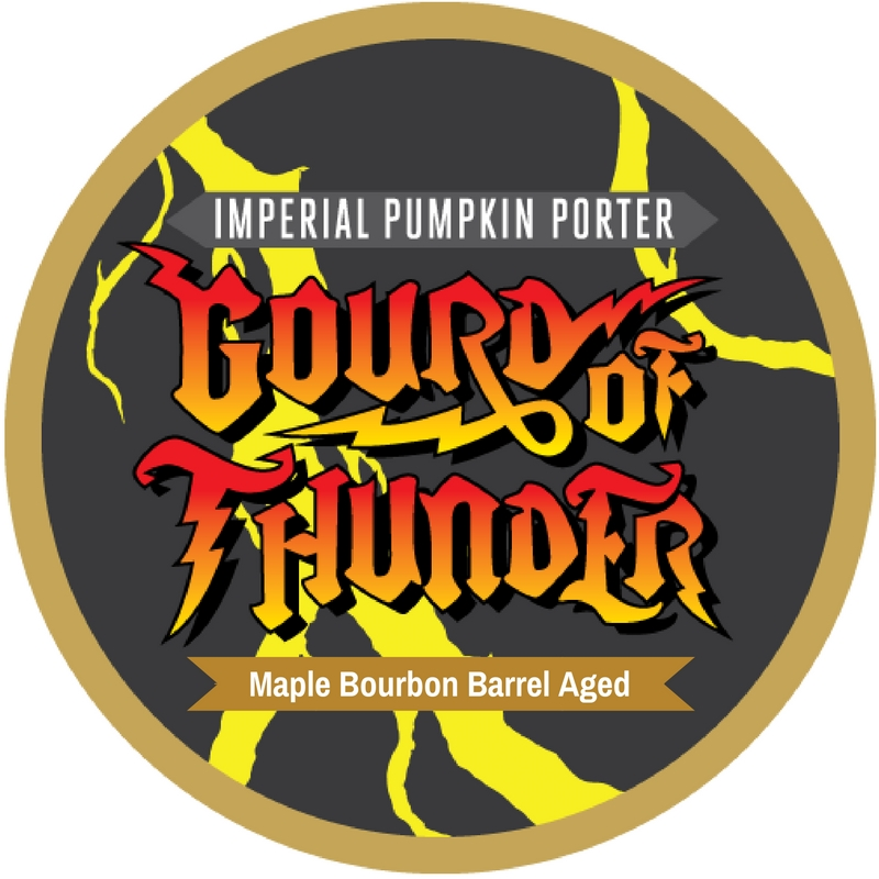 Maple Bourbon Barrel Aged Gourd of Thunder