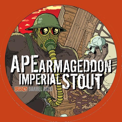 Ape Armageddon Brandy Barrel Aged Imperial Stout