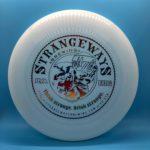 white frisbee