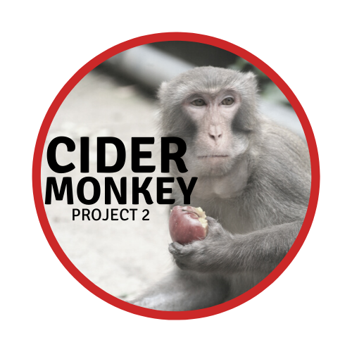 Cider Monkey: Project 2