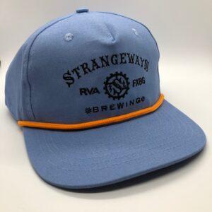blue hat-front