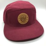 maroon hat -front