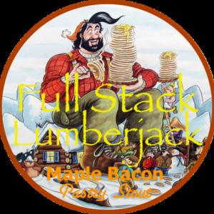 Full Stack Lumberjack Maple Bacon Pastry Stout Logo